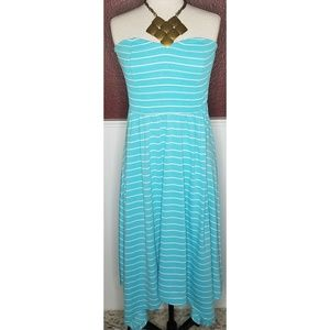 Torrid Strapless tube top dress